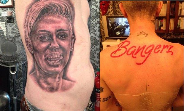 40-летний мужчина сделал 21-ю татуировку с Майли Сайрус. Изображение № 3.
