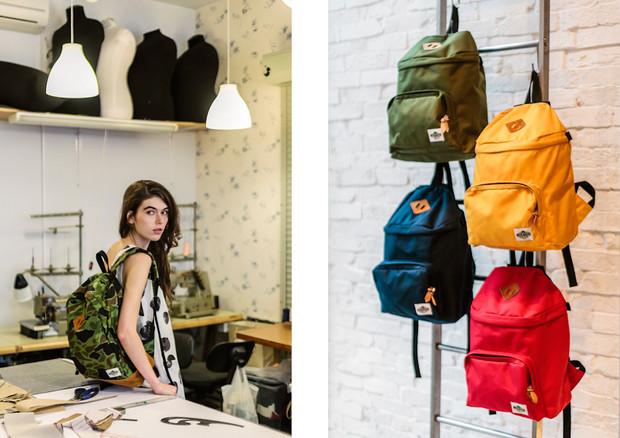 Магазин KixBox выпустил коллекцию рюкзаков и снял к ней лукбук. Изображение № 3.