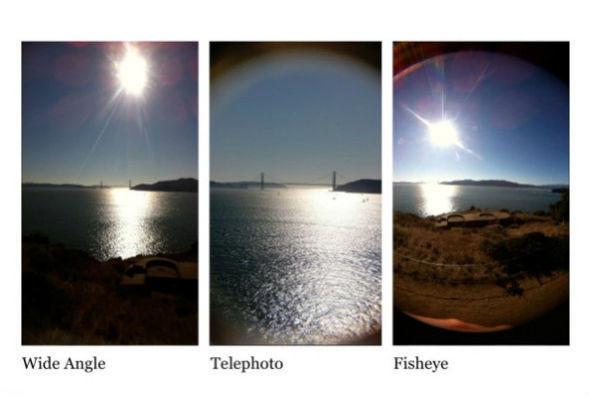 Корпус для iPhone с тремя фотообъективами. Изображение № 3.