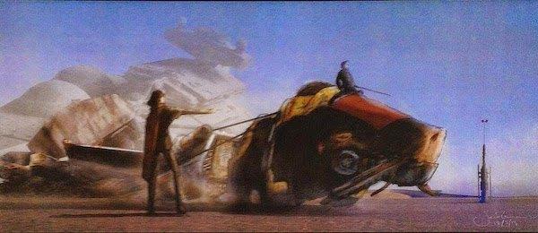 В сеть слили концепт-арт седьмого эпизода «Звёздных войн». Изображение № 10.