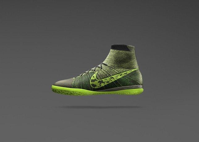 Nike представила новую версию бутс Elastico Superfly на текстильной основе. Изображение № 1.