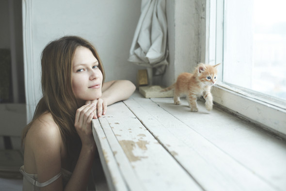 Хеллоу китти: 5 девушек и их котики. Изображение №18.