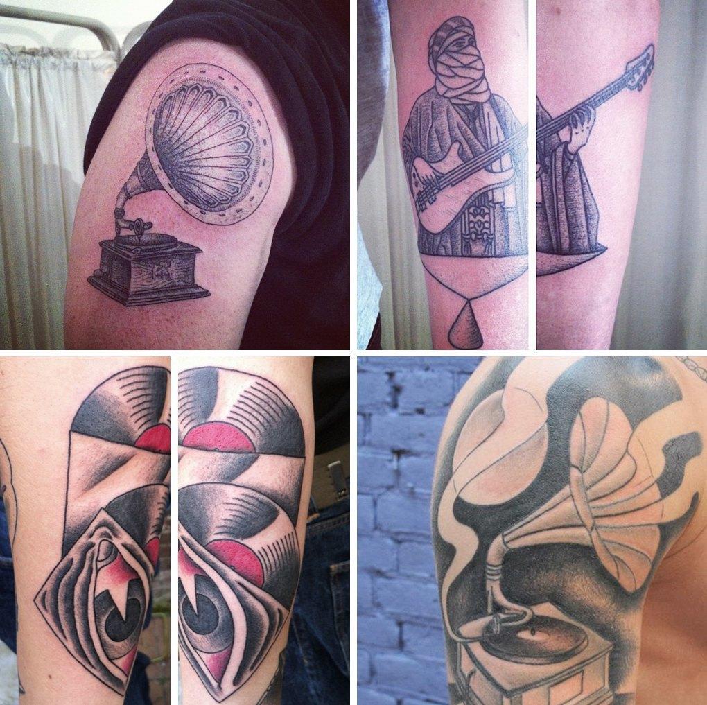 10 главных символов современной татуировки. Изображение № 9.