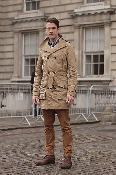 Уличный стиль на неделе моды в Лондоне. Изображение № 11.