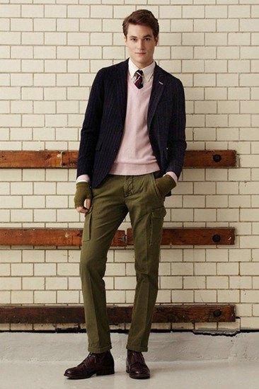 Марка Gant Rugger опубликовала лукбук осенней коллекции одежды. Изображение № 4.