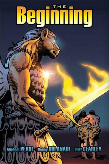 В США превратят Библию в «тестостероновые» комиксы. Изображение № 3.