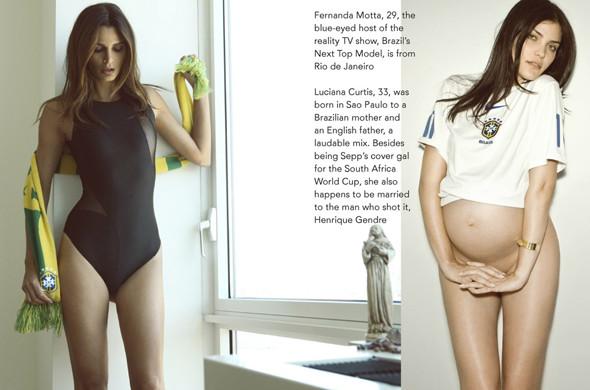 Special Issue: Журнал о футболе, моде и девушках Sepp. Изображение № 9.