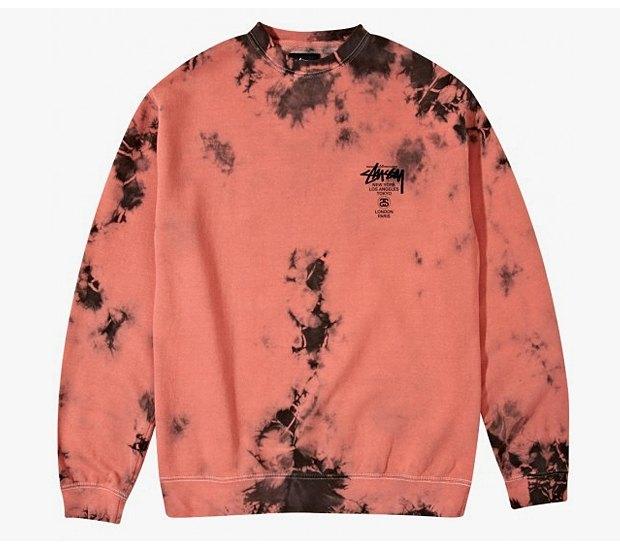 Марка Stussy выпустила коллекцию одежды, раскрашенной в стиле тай-дай. Изображение № 12.