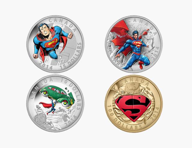 Как герои поп-культуры появлялись на монетах и почтовых марках. Изображение № 1.