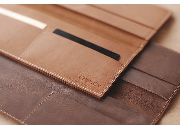 Московская марка бабочек и галстуков Chehov выпустила коллекцию кожаных изделий. Изображение № 6.
