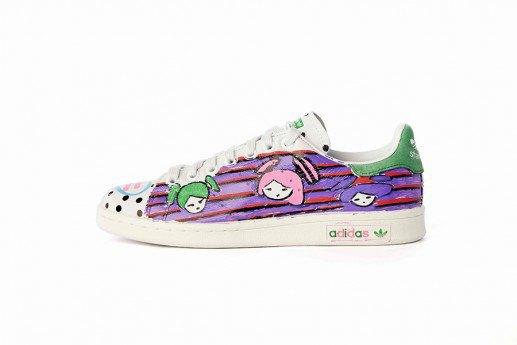 Adidas выпустит коллекцию кроссовок Stan Smith, вручную разрисованных Фарреллом. Изображение № 15.