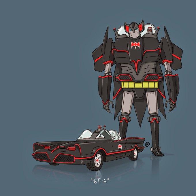 Даррен Роулингс: Если бы машины из культовых фильмов были трансформерами. Изображение № 1.
