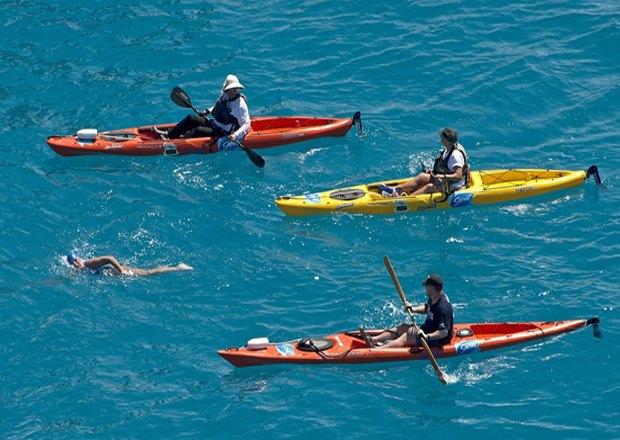 64-летняя американка переплыла залив между Кубой и США. Изображение № 2.