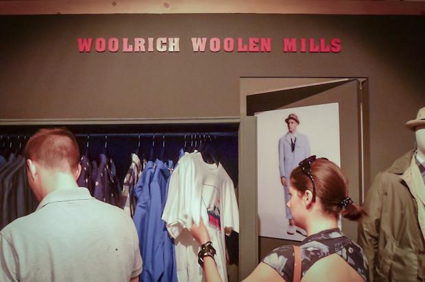 Здесь же была представлена новая коллекция линейки Woolrich Woolen Mills, во второй раз курируемой Марком МакНейри. Изображение № 28.
