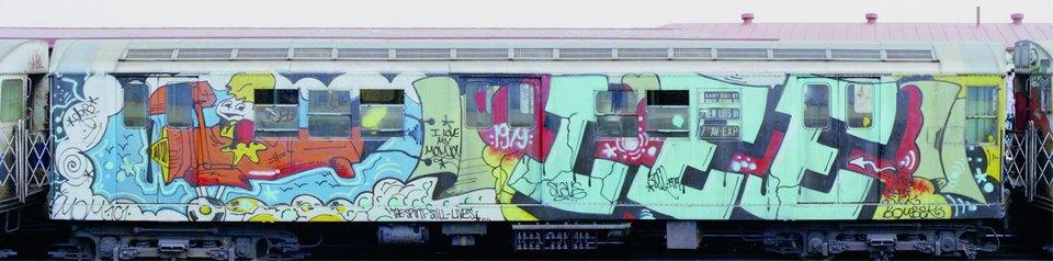 8 знаменитых фотографов, исследовавших мир граффити. Изображение № 14.