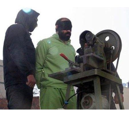 В Иране создали устройство для отрубания рук преступникам. Изображение № 2.