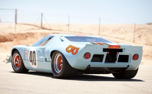 Спорткар Ford GT40 стал самым дорогим американским автомобилем. Изображение № 7.