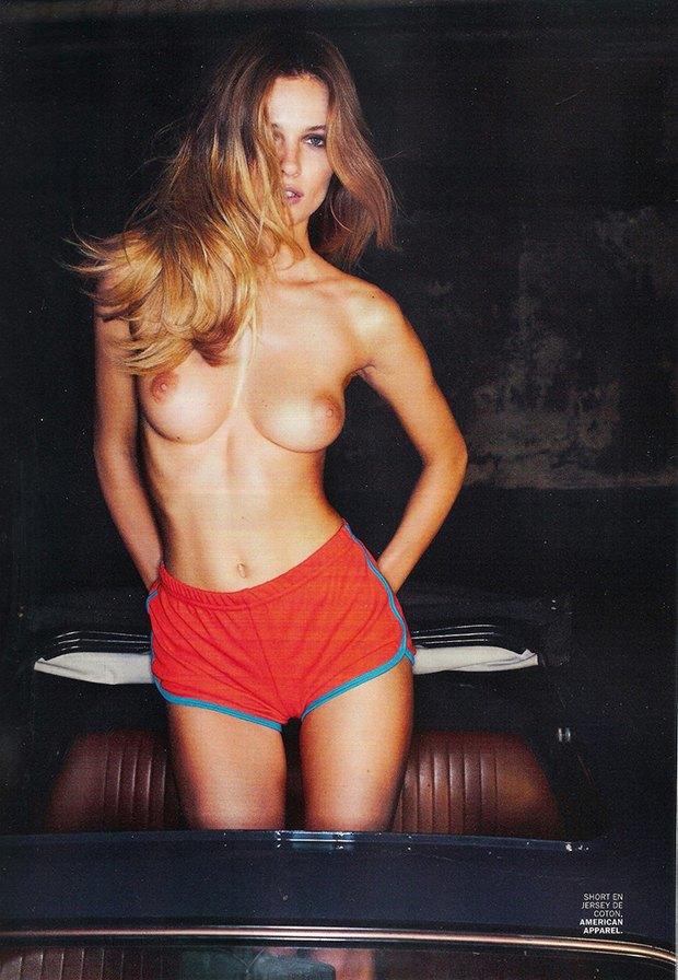 Эдита Вилкевичуте снялась обнаженной для Lui Magazine. Изображение № 1.