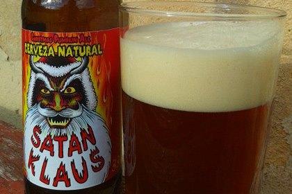 Испанцы сварили праздничное пиво «Сатана Клаус». Изображение № 1.
