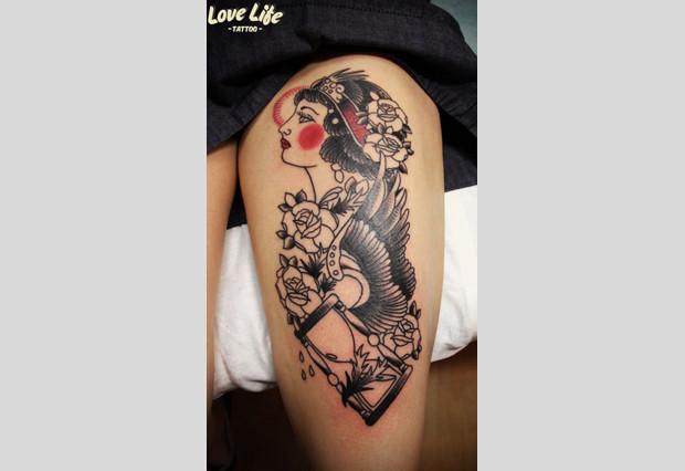 Избранные работы студии Love Life Tattoo. Изображение № 5.