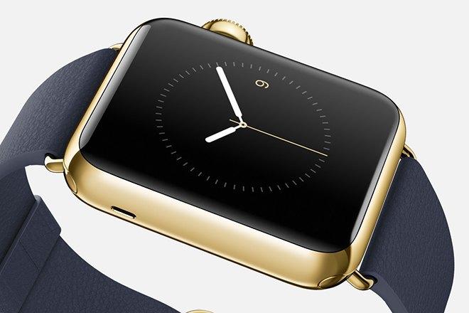 По слухам, в продажу поступят золотые Apple Watch стоимостью $4000. Изображение № 1.