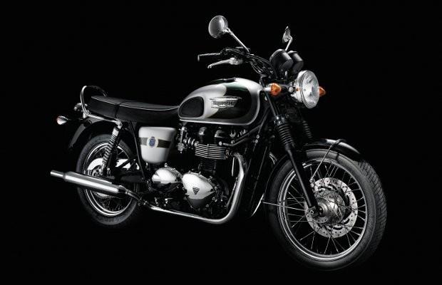 Марка Triumph выпустила мотоцикл к своему юбилею. Изображение № 1.