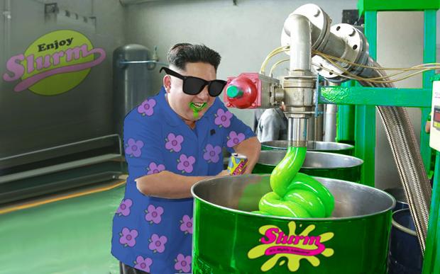 Поход Ким Чен Ына на завод смазок стал новым интернет-мемом . Изображение № 12.