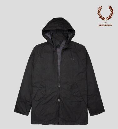 Check Hooded Storm Jacket — 22 400 рублей. Изображение № 8.