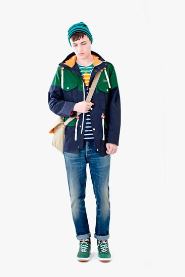 Марка Lacoste выпустила осеннюю коллекцию одежды линейки L!VE . Изображение № 2.