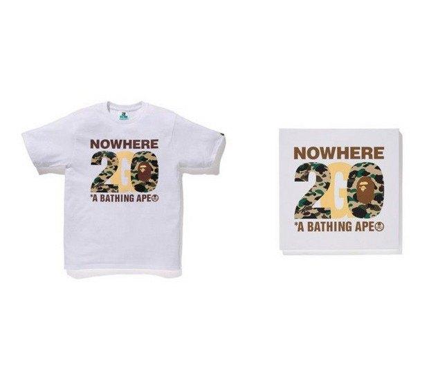 A Bathing Ape представили совместную коллекцию с Канье Уэстом и Фарреллом Уильямсом. Изображение № 13.