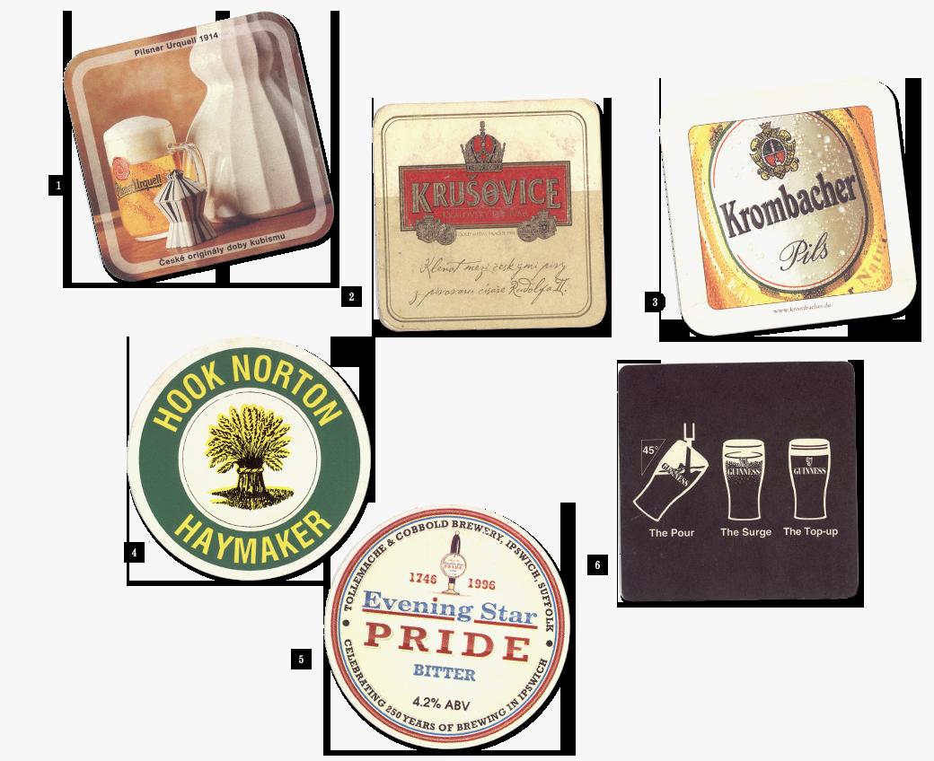 Коллекция бирдекелей: Избранные подставки под пиво дизайнера Никиты Трепцова. Изображение № 2.
