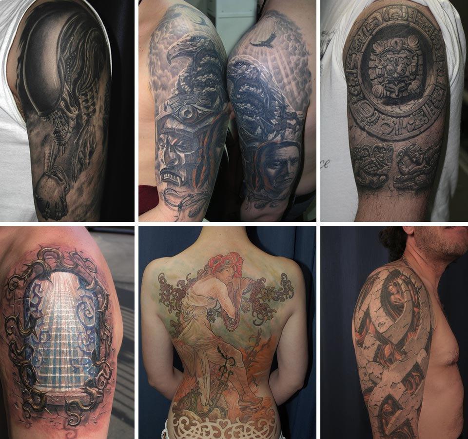 Бьет — значит любит: Старейшие татуировщики Москвы и их лучшие работы. Изображение № 6.