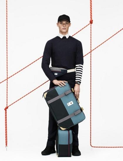 Марки Wood Wood и Eastpak выпустили лукбук совместной коллекции одежды. Изображение № 6.