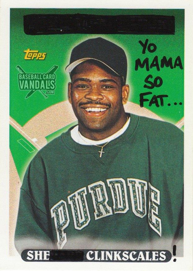 Baseball Card Vandals: Художники иронизируют над спортивными коллекционными карточками. Изображение № 20.