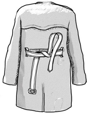 Совет: Как завязывать пояс на тренче. Изображение № 3.