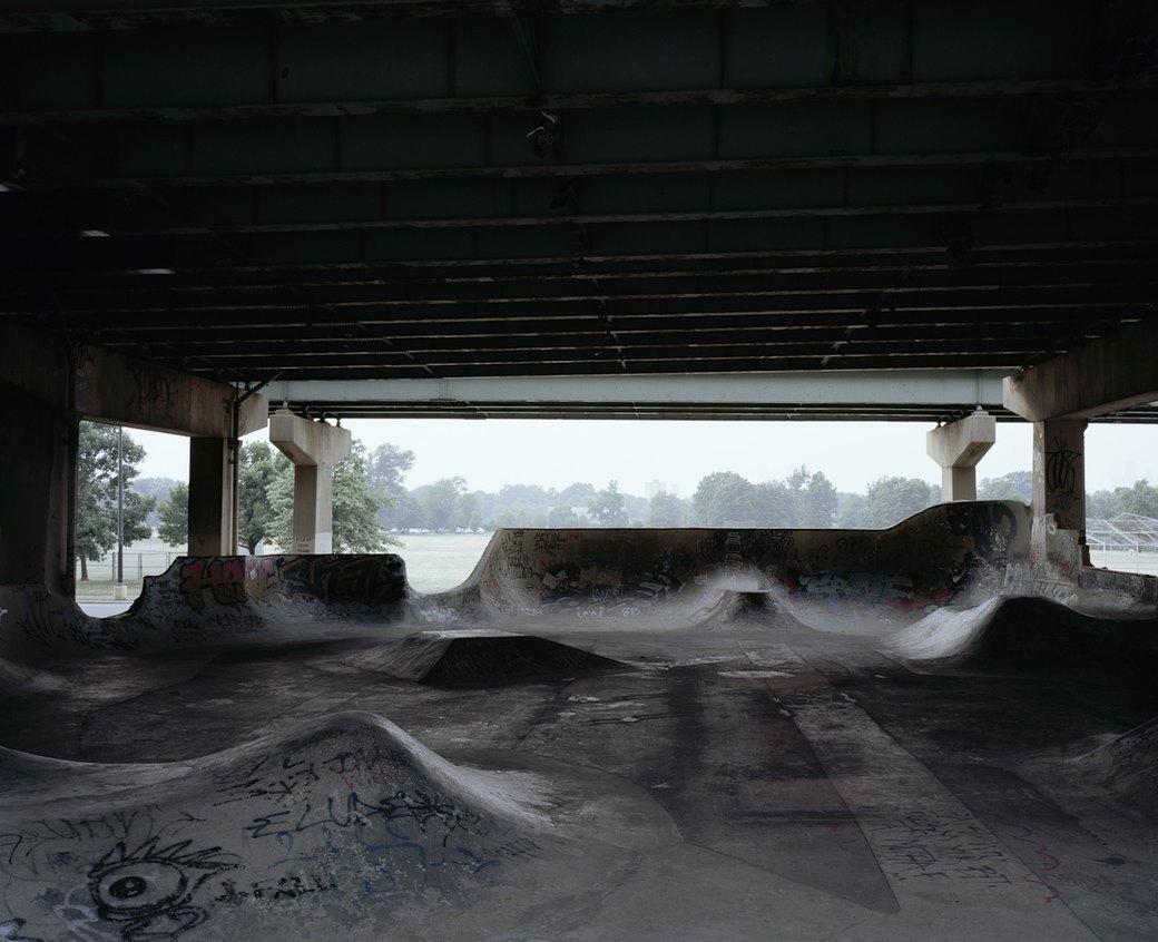 Фотопроект: Увядающая культура самодельных скейт-парков. Изображение № 1.