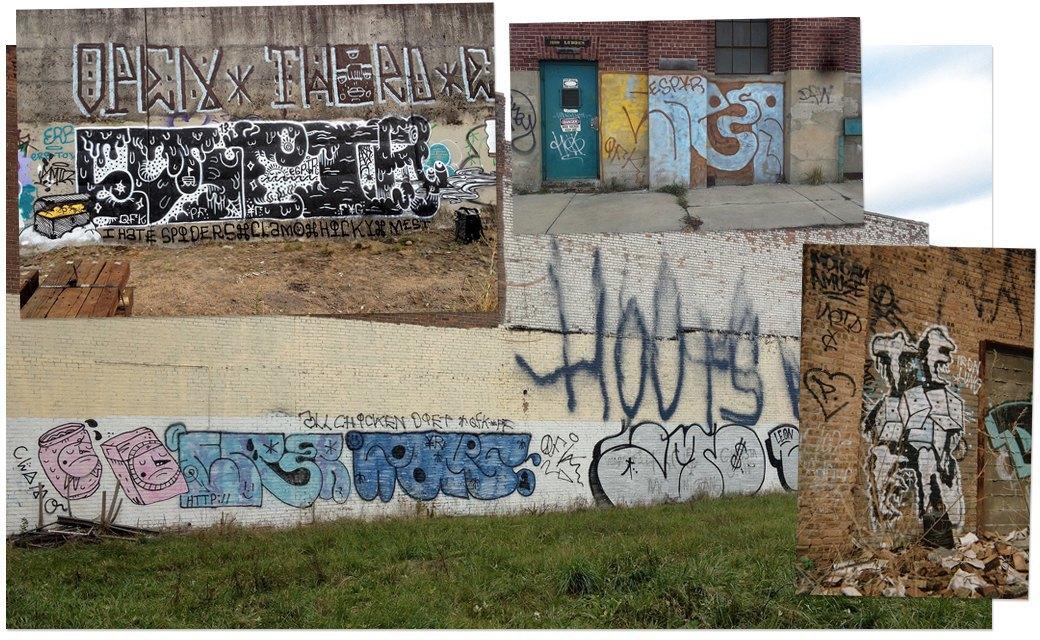 Банда аутсайдеров: Как уличные художники возвращают искусству граффити дух протеста. Изображение № 7.