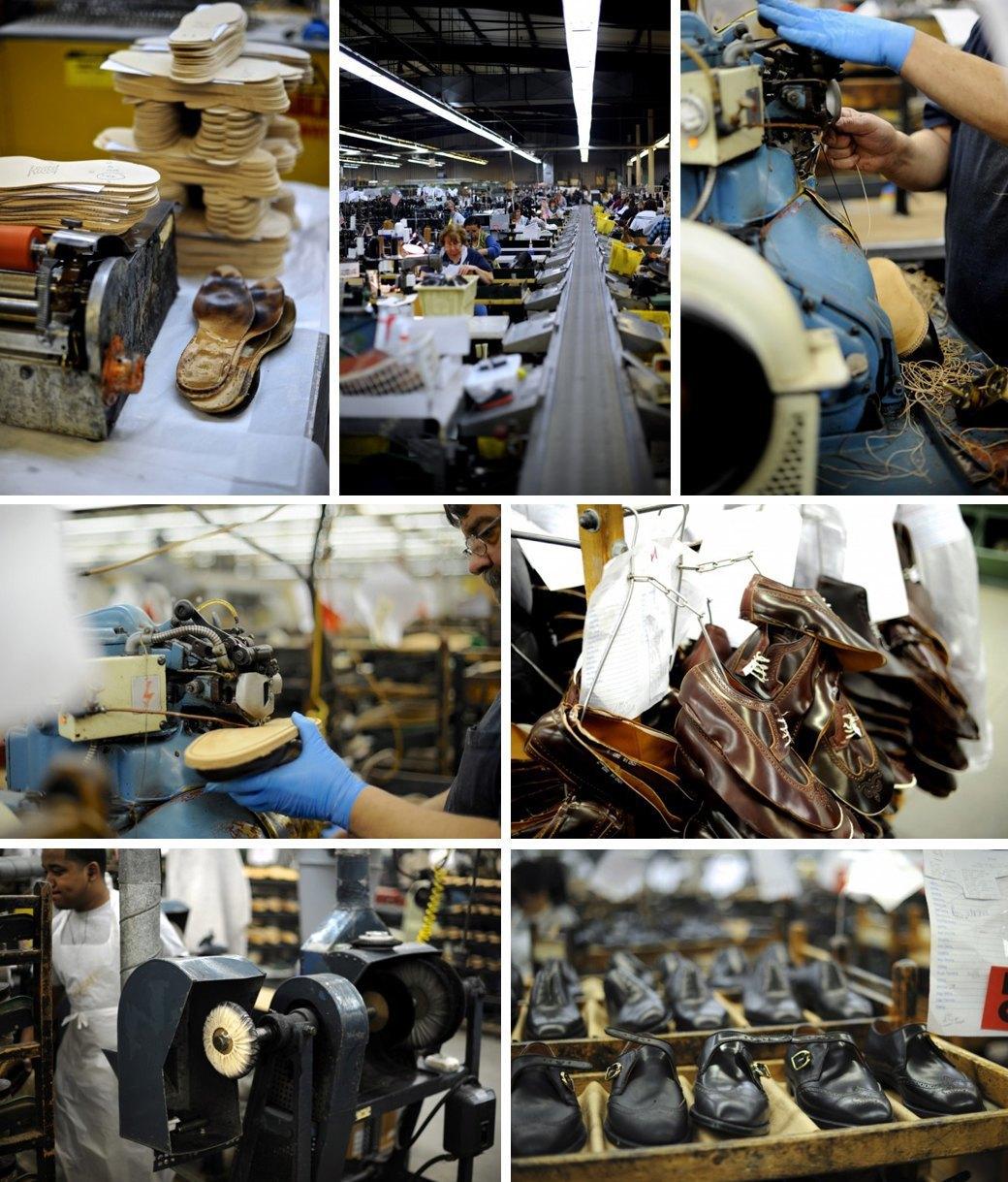10 репортажей с фабрик одежды и обуви: Alden, Barbour и другие изнутри. Изображение № 6.