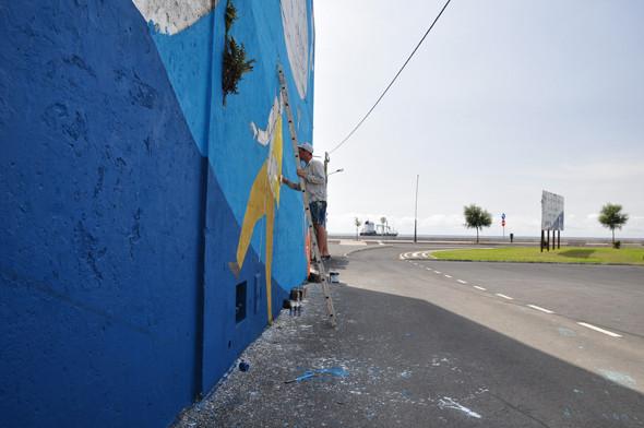 Скетчбук: Участники граффити-дуэта из Киева Interesni Kazki рассказывают о своих лучших работах. Изображение № 32.