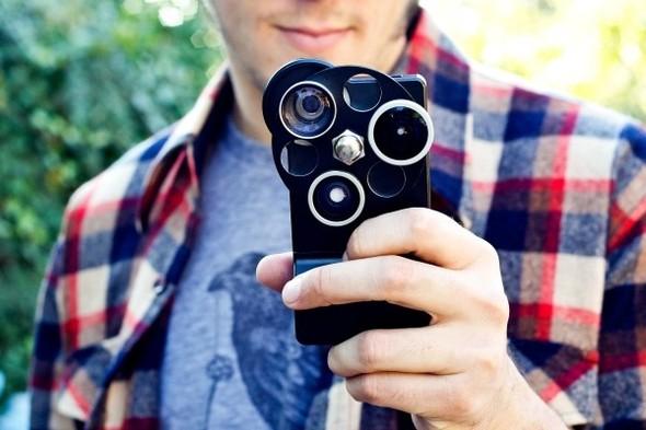 Корпус для iPhone с тремя фотообъективами. Изображение № 8.
