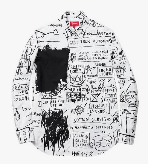 Supreme выпустили коллекцию одежды с работами Жан-Мишеля Баския. Изображение № 1.