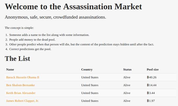 В анонимной сети TOR появился рынок наемных убийц. Изображение № 1.