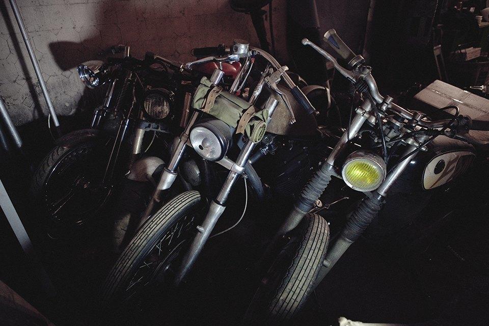 Болгарка, молоток и сварка: Интервью с  Глебом Чёрным, владельцем кастом-ателье мотоциклов . Изображение № 21.