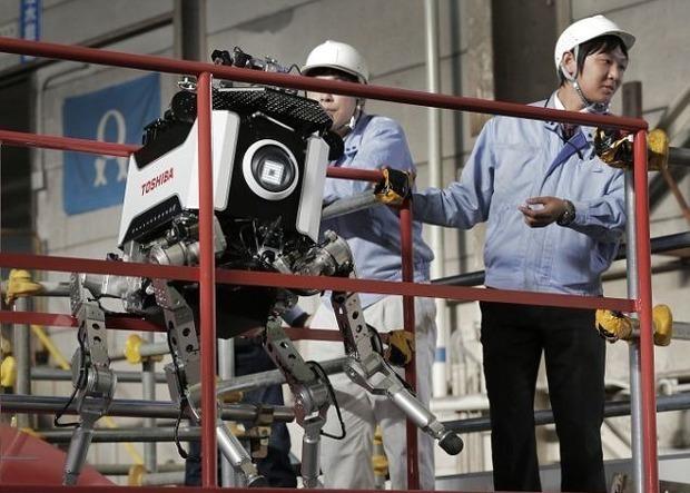 Японцы создали робота, выдерживающего радиацию. Изображение № 3.