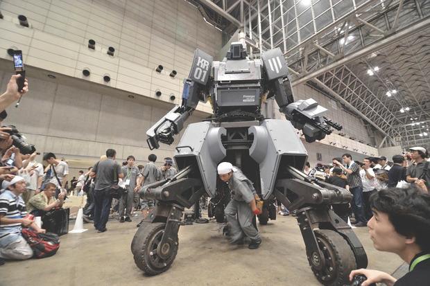 В Японии произвели четырехметрового боевого робота. Изображение № 8.