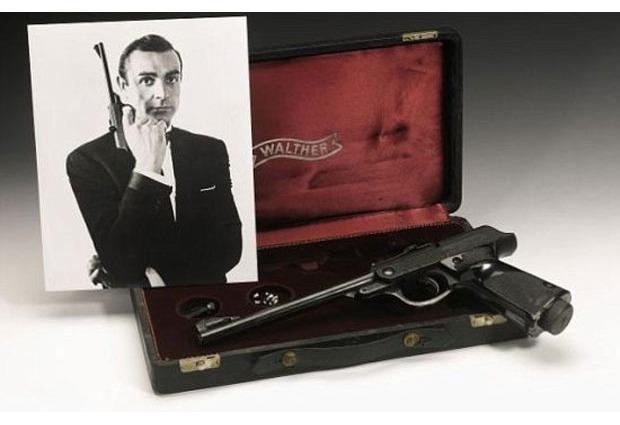 Пистолет «Вальтер» Джеймса Бонда выставили на аукцион . Изображение № 1.