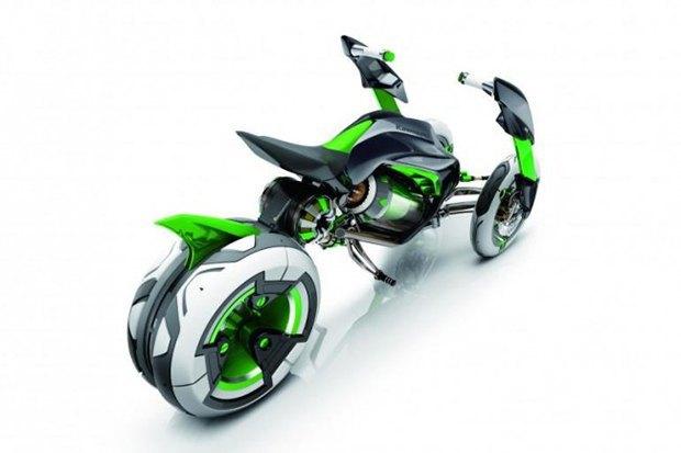 Kawasaki представили новый мотоцикл-трансформер. Изображение № 9.