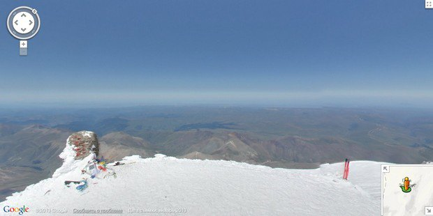 При помощи Google Street View теперь можно побывать на Килиманджаро, Эвересте и других вершинах. Изображение № 9.