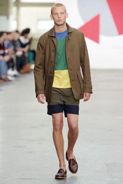 Марка Oliver Spencer выпустила летнюю коллекцию одежды. Изображение № 5.
