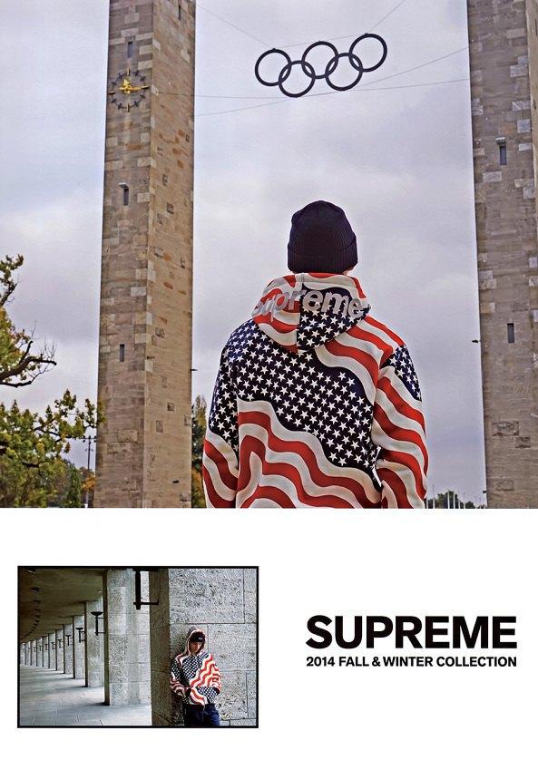 Гоша Рубчинский снял лукбук марки Supreme для журнала Grind Magazine. Изображение № 1.